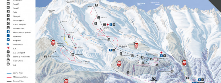 Trail Map Disentis