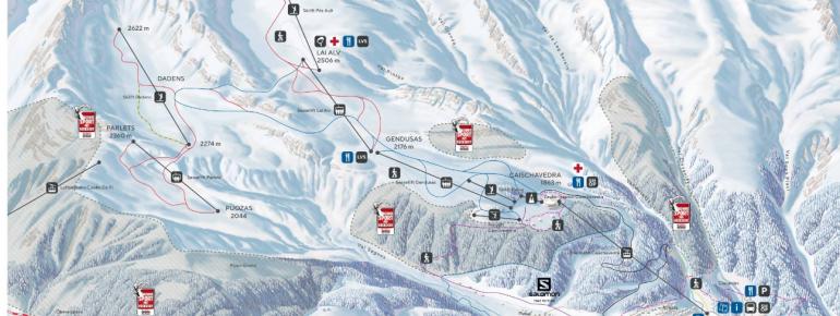Trail Map Disentis