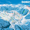 PARK SNOW Donovaly winter map