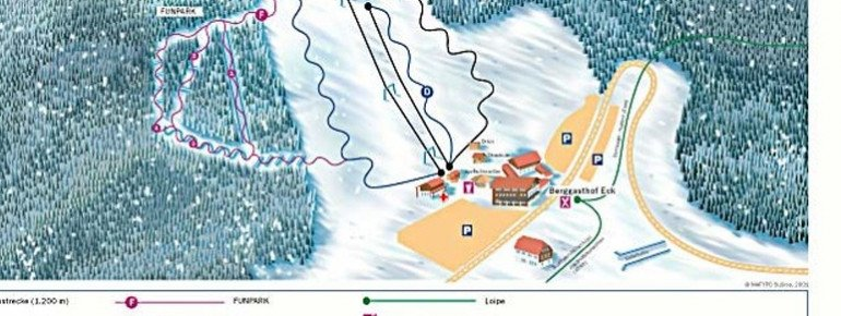Trail Map Eck