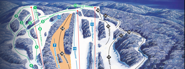Trail Map Sommet Edelweiss