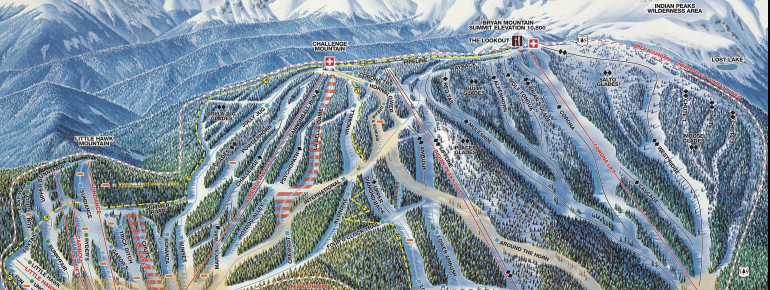 Trail Map Eldora Mountain Resort