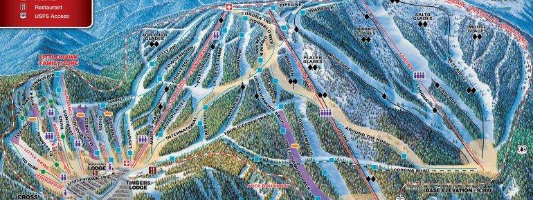 Trail Map Eldora Mountain Resort