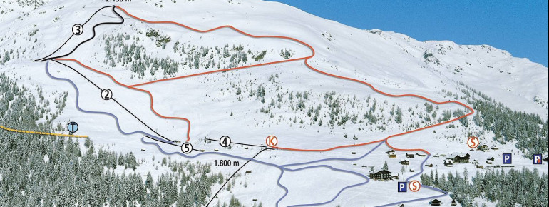 Trail Map Emberger Alm