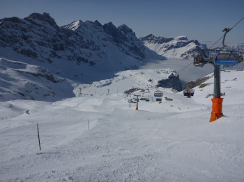 Run no. 2 is one of the highlights in Engelberg Titlis