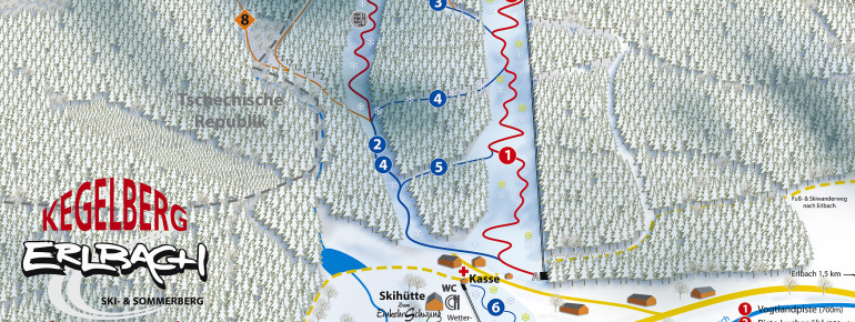 Trail Map Erlbach Kegelberg