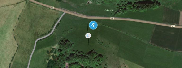 Trail Map Ernstberg by Daun