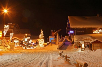 Les Saisies is one of six resorts located in the ski area of Espace Diamant.