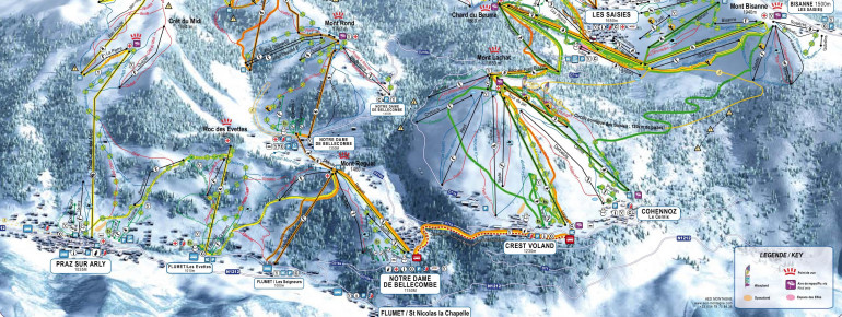 Trail Map Espace Diamant