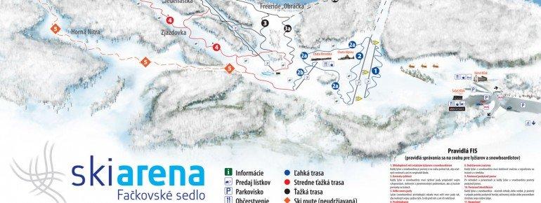 Trail Map Fackovske Sedlo Klak