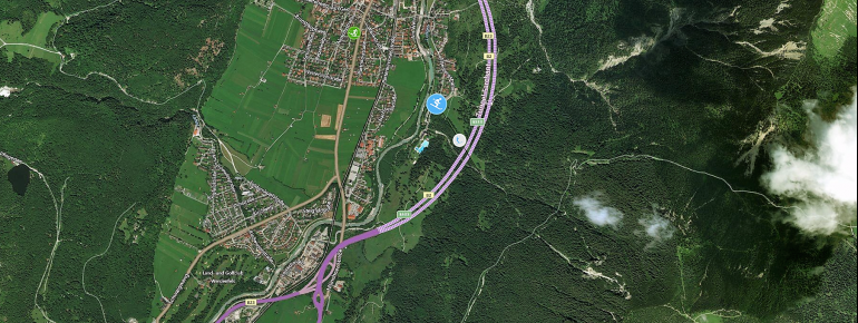 Trail Map Farchant