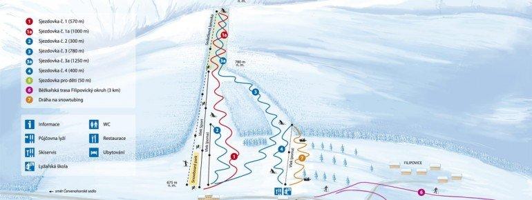 Trail Map Filipovice