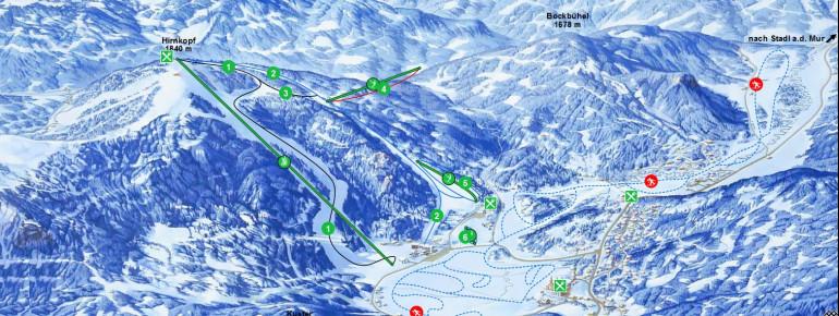 Trail Map Flattnitz