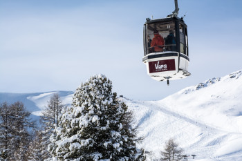 Around 50 lifts take you comfortably up the mountain.