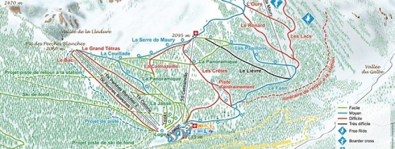 Trail Map Formigueres