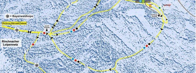 Trail Map Frauenau
