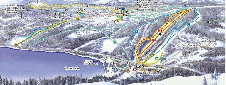 Trail Map Gala