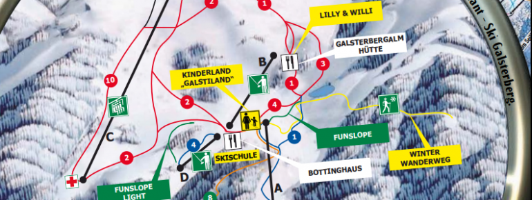 Trail Map Galsterberg