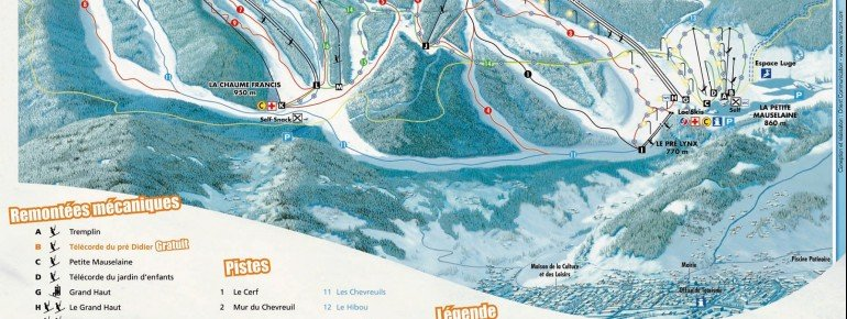 Trail Map Gerardmer