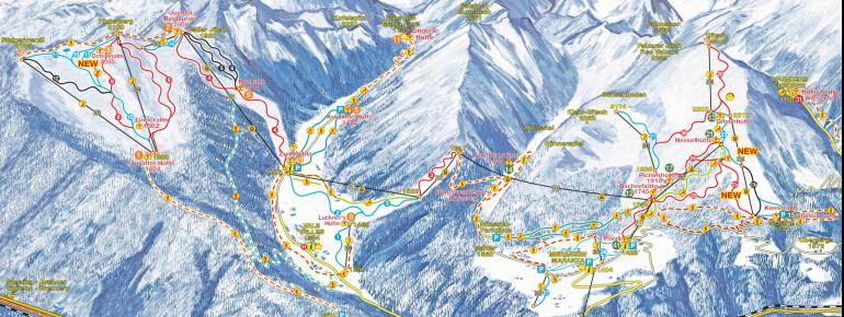 Trail Map Gitschberg Jochtal