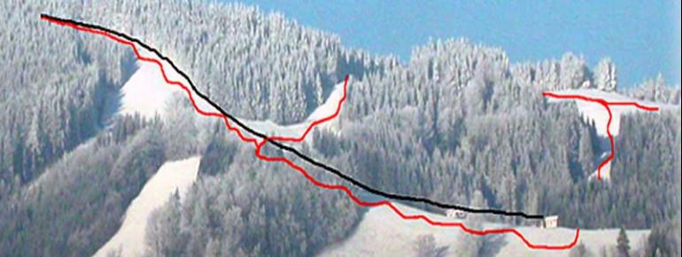 Trail Map Glasenberg Maria Neustift