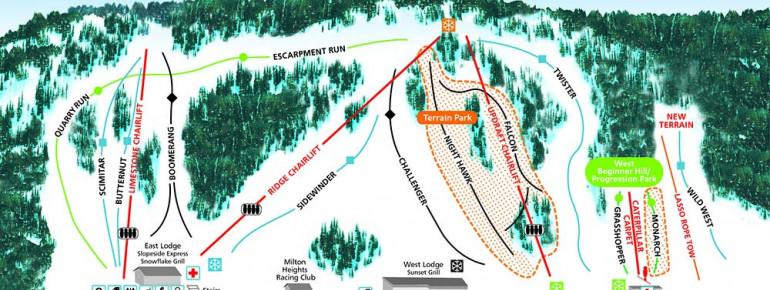 Trail Map Glen Eden