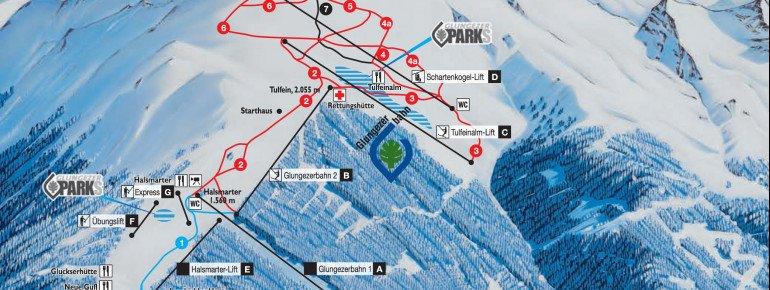 Trail Map Glungezer