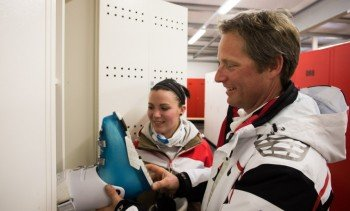 Skidepot Goldeck - perfect for storing your equipment!