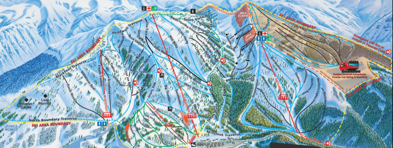 Trail Map Grand Targhee