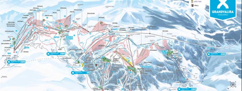 Trail Map Grandvalira