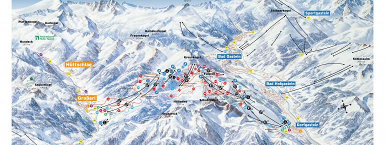 Trail Map Großarltal