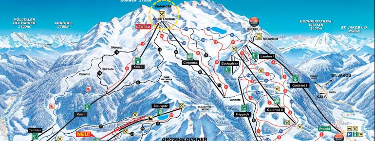 Trail Map Grossglockner Resort Kals Matrei