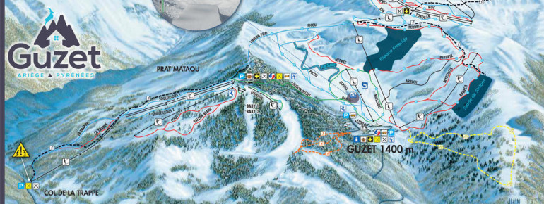 Trail Map Guzet
