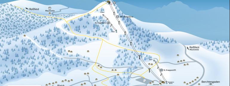 Trail Map Hallein Dürrnberg