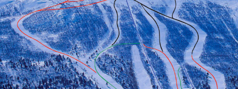Trail Map Hallingskarvet