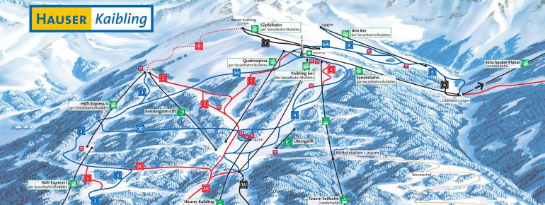 Trail Map Hauser Kaibling