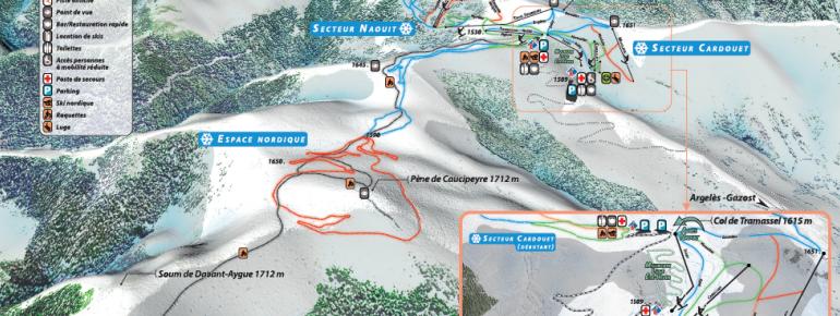 Trail Map Hautacam