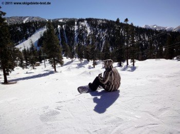"""View of beginners' trail park """"Progression Park""""."""