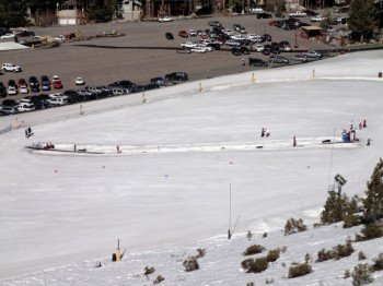 There is a nice practice area for kids at Gunbarrel Lift's base station.
