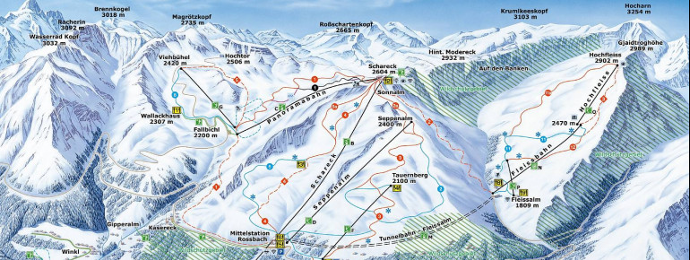 Trail Map Grossglockner - Heiligenblut