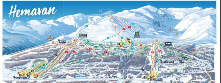 Trail Map Hemavan