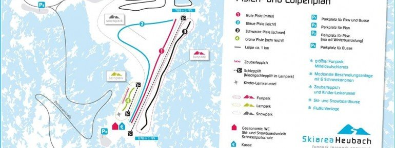 Trail Map Heubach