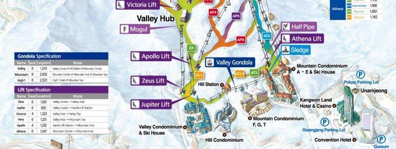 Trail Map High1 Resort
