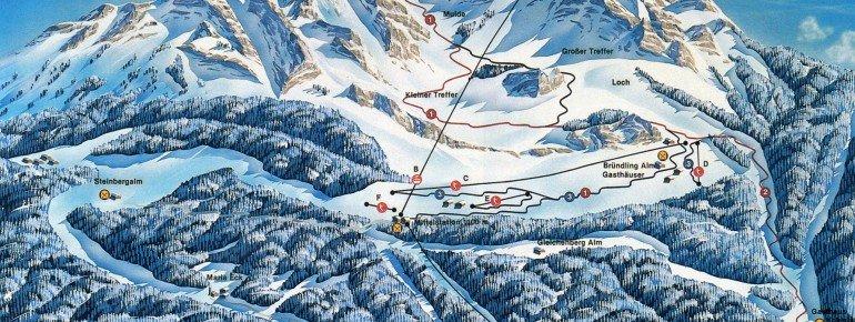 Trail Map Hochfelln