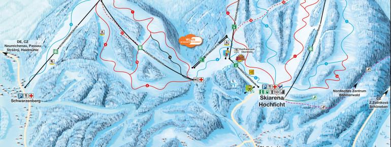 Trail Map Hochficht
