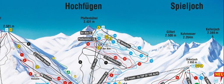 Trail Map Hochfügen