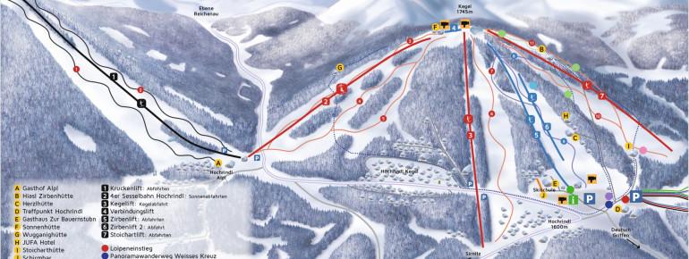 Trail Map Hochrindl Sirnitz