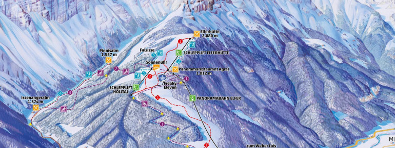 Trail Map Elfer Neustift