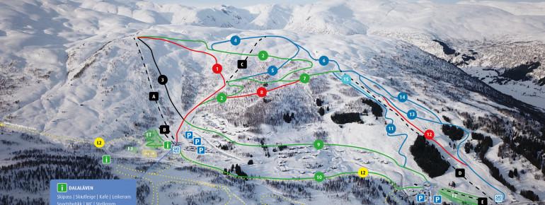 Trail Map Hodlekve