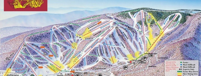Trail Map Holiday Valley Resort